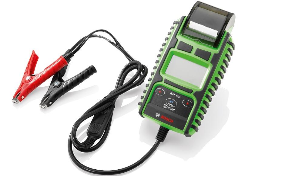 Тестер стартерных батарей Bosch BAT 115: быстро и точно!