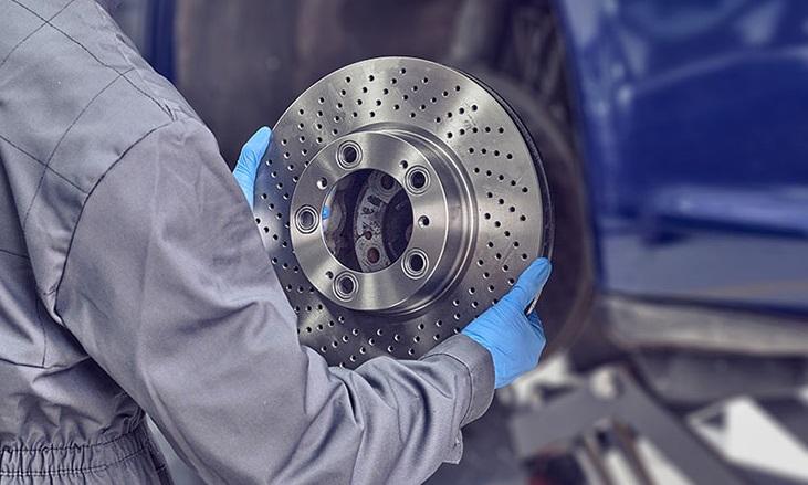 Тормозные диски с покрытием Geomet, водой и цинком