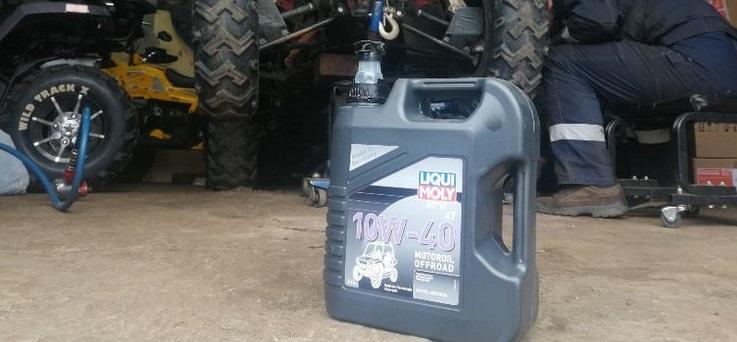 синтетическое моторное масло для высоконагруженной внедорожной мототехники