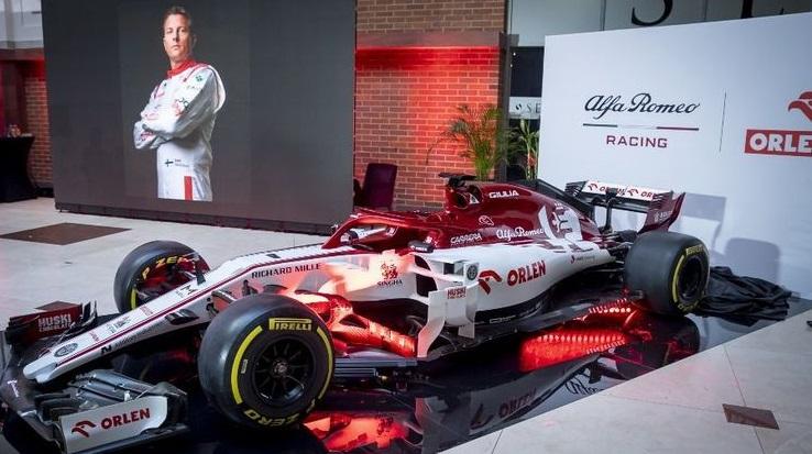 Orlen является генеральным спонсором команды «Формулы-1» Alfa Romeo Racing
