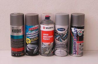 Цинконаполненный грунт для авто: отзывы по 5-ти аэрозолям