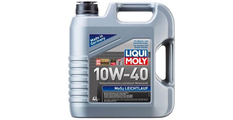Моторное масло с обозначением MoS2 Leichtlauf