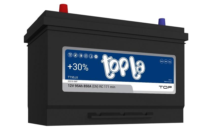 Батареи марки Topla входят в список самых популярных зарубежных АКБ