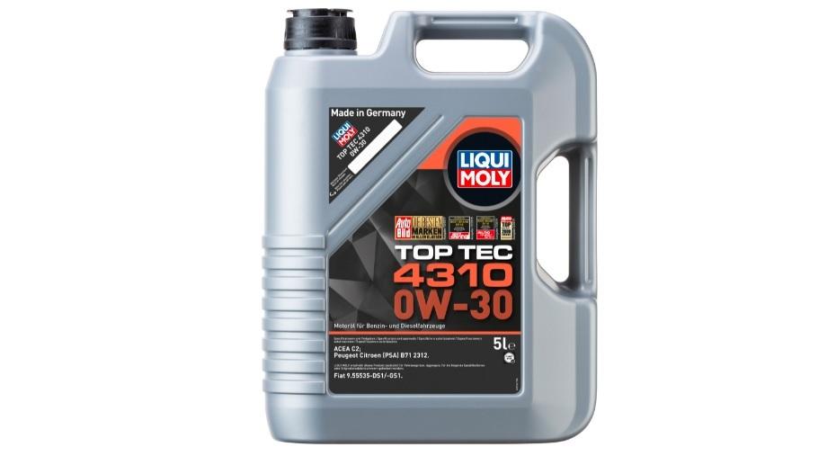 Масло Top Tec 4310 0W-30 относится к малозольным (Mid SAPS) смазкам