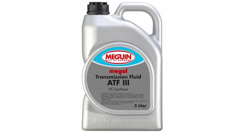 Трансмиссионное полусинтетическое масло atf  iii